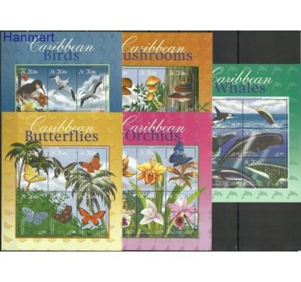 Znaczek Saint Kitts 2001 Mi 622-651 Czyste **