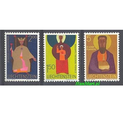 Znaczek Liechtenstein 1968 Mi 500-502 Czyste **