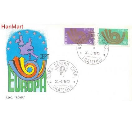 Znaczek Włochy 1973 Mi 1409-1410 FDC