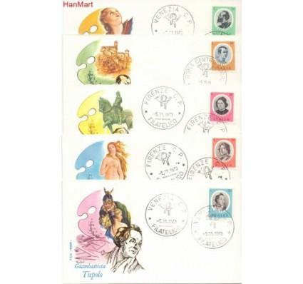 Znaczek Włochy 1973 Mi 1419-1423 FDC