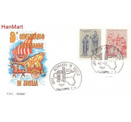 Znaczek Włochy 1974 Mi 1435-1436 FDC