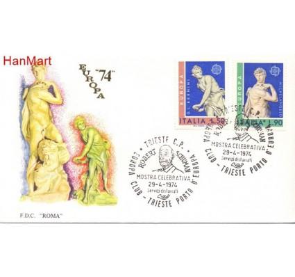 Znaczek Włochy 1974 Mi 1440-1441 FDC