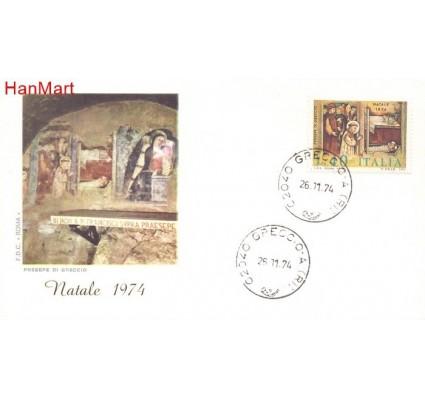 Znaczek Włochy 1974 Mi 1472 FDC