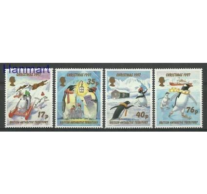Znaczek Brytyjskie Terytorium Antarktyczne 1997 Mi 259-262 Czyste **