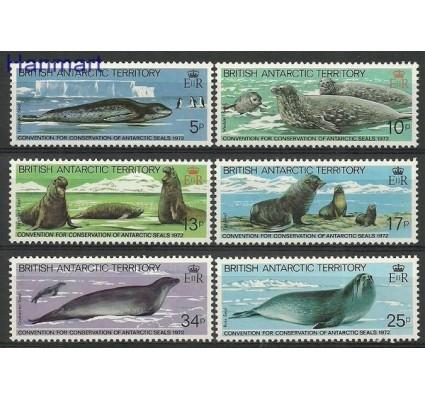 Znaczek Brytyjskie Terytorium Antarktyczne 1983 Mi 98-103 Czyste **