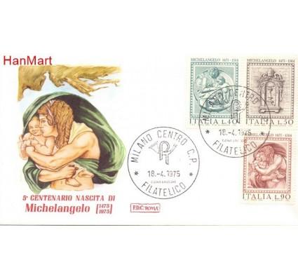 Znaczek Włochy 1975 Mi 1483-1485 FDC