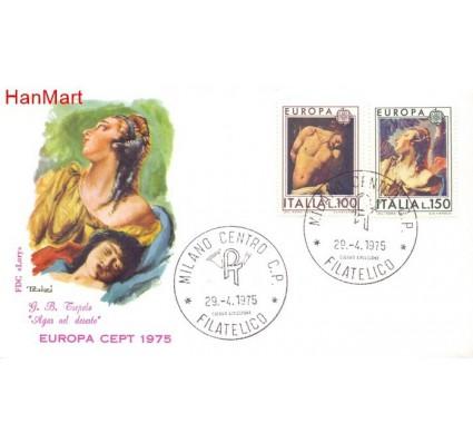 Znaczek Włochy 1975 Mi 1489-1490 FDC