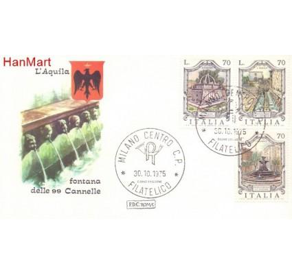 Znaczek Włochy 1975 FDC
