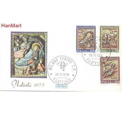 Znaczek Włochy 1975 Mi 1513-1515 FDC