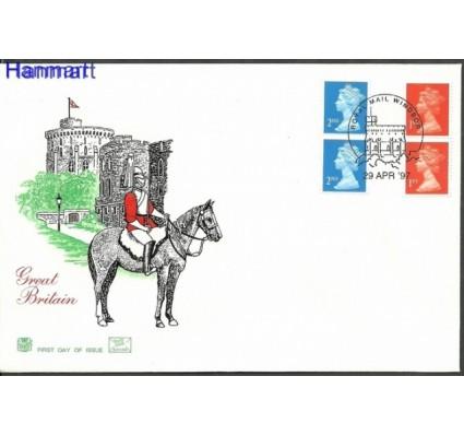 Znaczek Wielka Brytania 1998 Mi 1747-1748 FDC