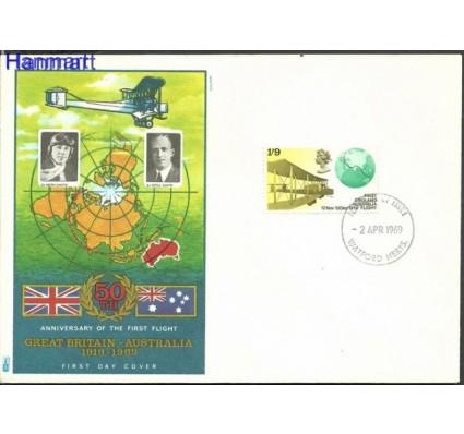 Znaczek Wielka Brytania 1969 FDC