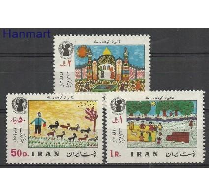 Znaczek Iran 1970 Mi 1494-1496 Czyste **