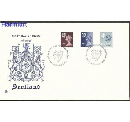 Znaczek Wielka Brytania 1978 Mi 26-28 FDC