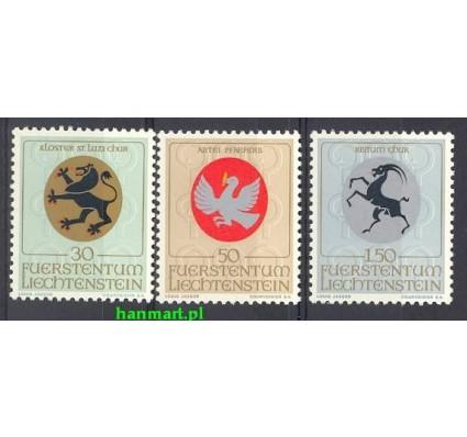 Znaczek Liechtenstein 1969 Mi 514-516 Czyste **