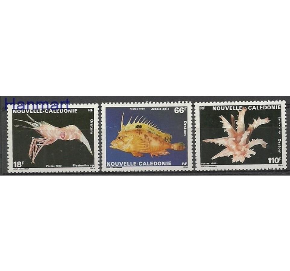 Nowa Kaledonia 1989 Mi 849-851 Czyste **