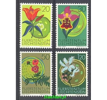 Znaczek Liechtenstein 1970 Mi 521-524 Czyste **