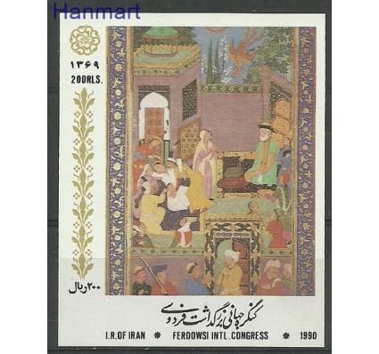 Znaczek Iran 1990 Mi bl 28 Czyste **