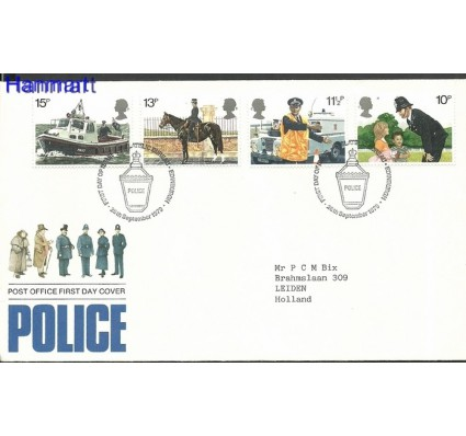 Znaczek Wielka Brytania 1979 FDC
