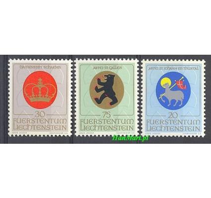Znaczek Liechtenstein 1970 Mi 533-535 Czyste **