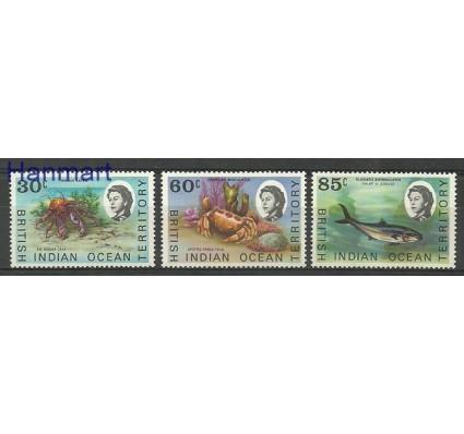 Znaczek Brytyjskie Terytorium Oceanu Indyjskiego 1970 Mi 36-38 Czyste **