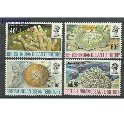 Znaczek Brytyjskie Terytorium Oceanu Indyjskiego 1972 Mi 44-47 Czyste **