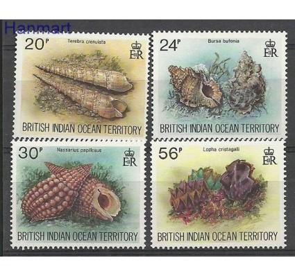 Znaczek Brytyjskie Terytorium Oceanu Indyjskiego 1996 Mi 179-182 Czyste **