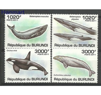 Znaczek Burundi 2011 Mi 2038-2041 Czyste **
