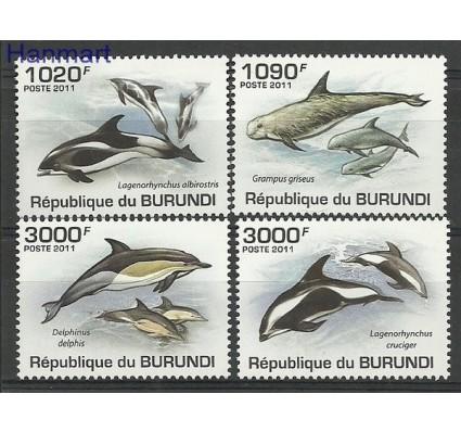 Znaczek Burundi 2011 Mi 2054-2057 Czyste **