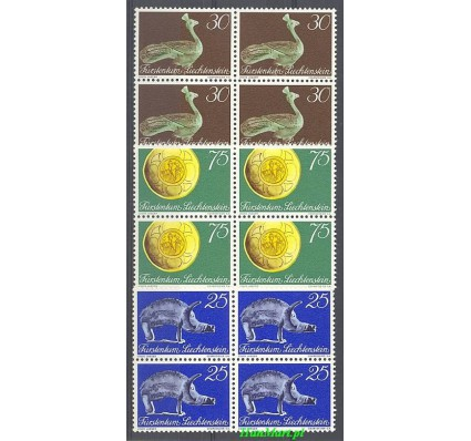Znaczek Liechtenstein 1971 Mi 536-538 Czyste **