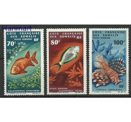 Znaczek Somali Francuskie 1966 Mi 382-384 Czyste **