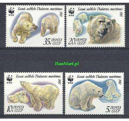 Znaczek ZSRR 1987 Mi 5694-5697 Czyste **