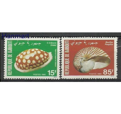 Znaczek Dżibuti 1980 Mi 281-282 Czyste **