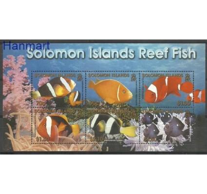 Znaczek Wyspy Salomona 2001 Mi bl 65 Czyste **