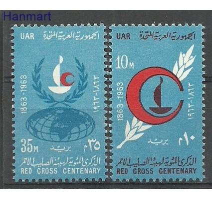 Znaczek Egipt 1963 Mi 699-700 Czyste **