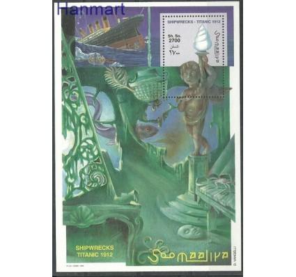 Znaczek Somalia 1998 Mi bl 55 Czyste **