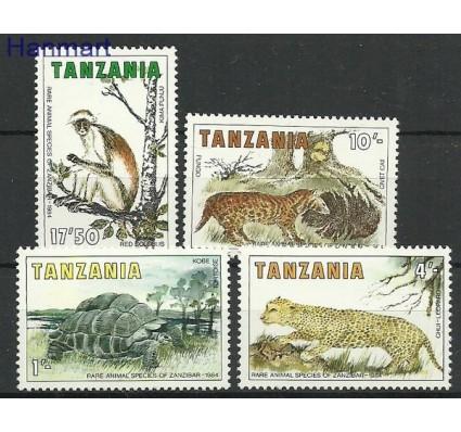 Znaczek Tanzania 1985 Mi 258-261 Czyste **