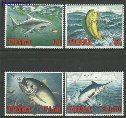 Znaczek Tonga 1994 Mi 1317-1320 Czyste **