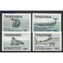 Tanzania 1993 Mi 1453-1456 Czyste **