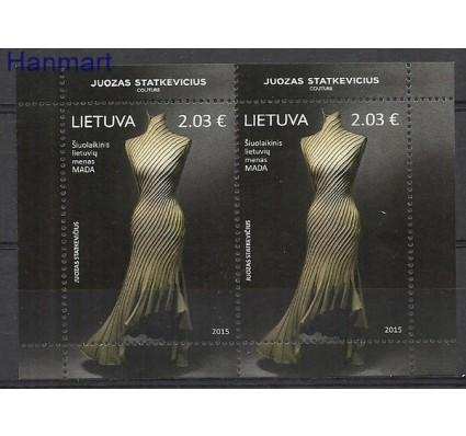 Znaczek Litwa 2015 Mi ark 1197 Czyste **