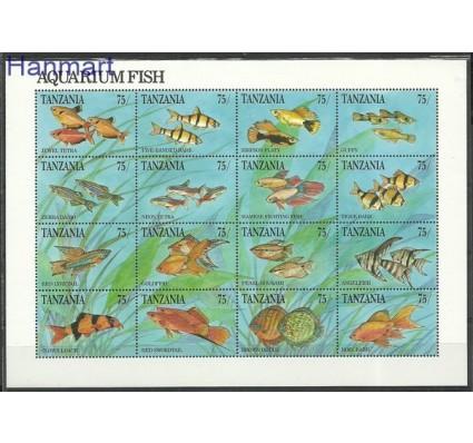 Znaczek Tanzania 1991 Mi 958-973 Czyste **