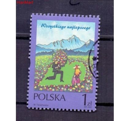 Znaczek Polska 2001 Stemplowane