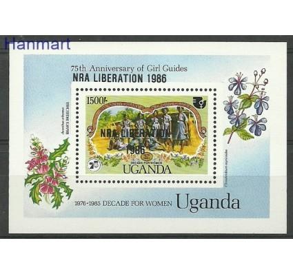 Znaczek Uganda 1986 Mi bl 57 Czyste **