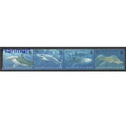 Znaczek Wyspa Wniebowstąpienia 2008 Mi 1033-1036 Czyste **