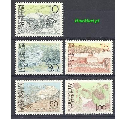Znaczek Liechtenstein 1972 Mi 573-577 Czyste **