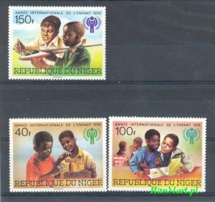Znaczek Niger 1979 Mi 659-661 Czyste **