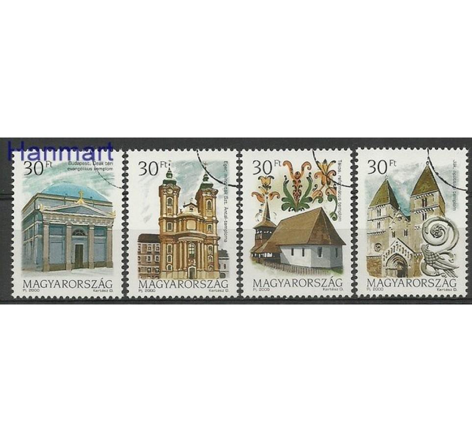 Węgry 2000 Mi 4611-4614 Czyste **