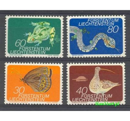 Znaczek Liechtenstein 1973 Mi 591-594 Czyste **