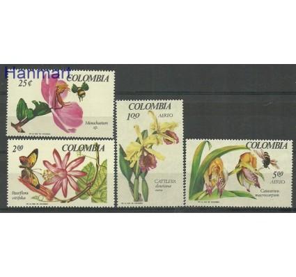 Znaczek Kolumbia 1967 Mi 1098-1100+1102 Czyste **