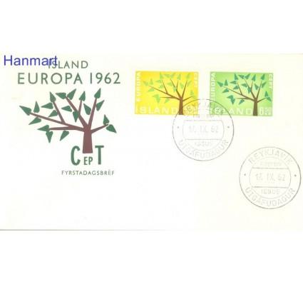 Znaczek Islandia 1962 FDC