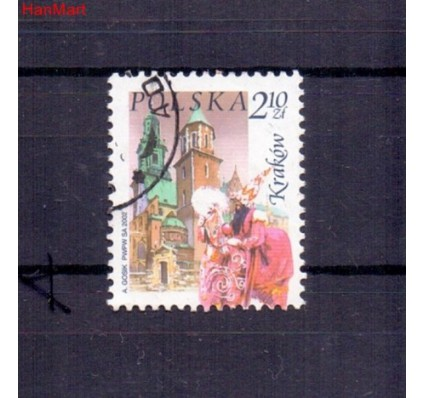 Znaczek Polska 2002 Stemplowane